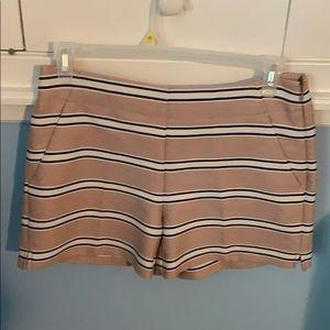NWT LOFT striped shorts